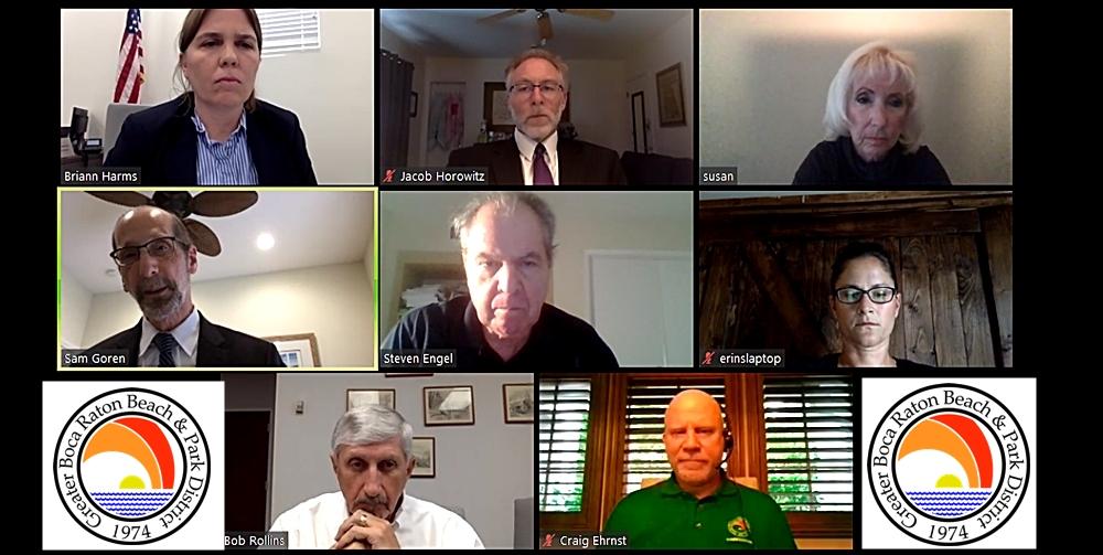 Screen short of virtual meeting