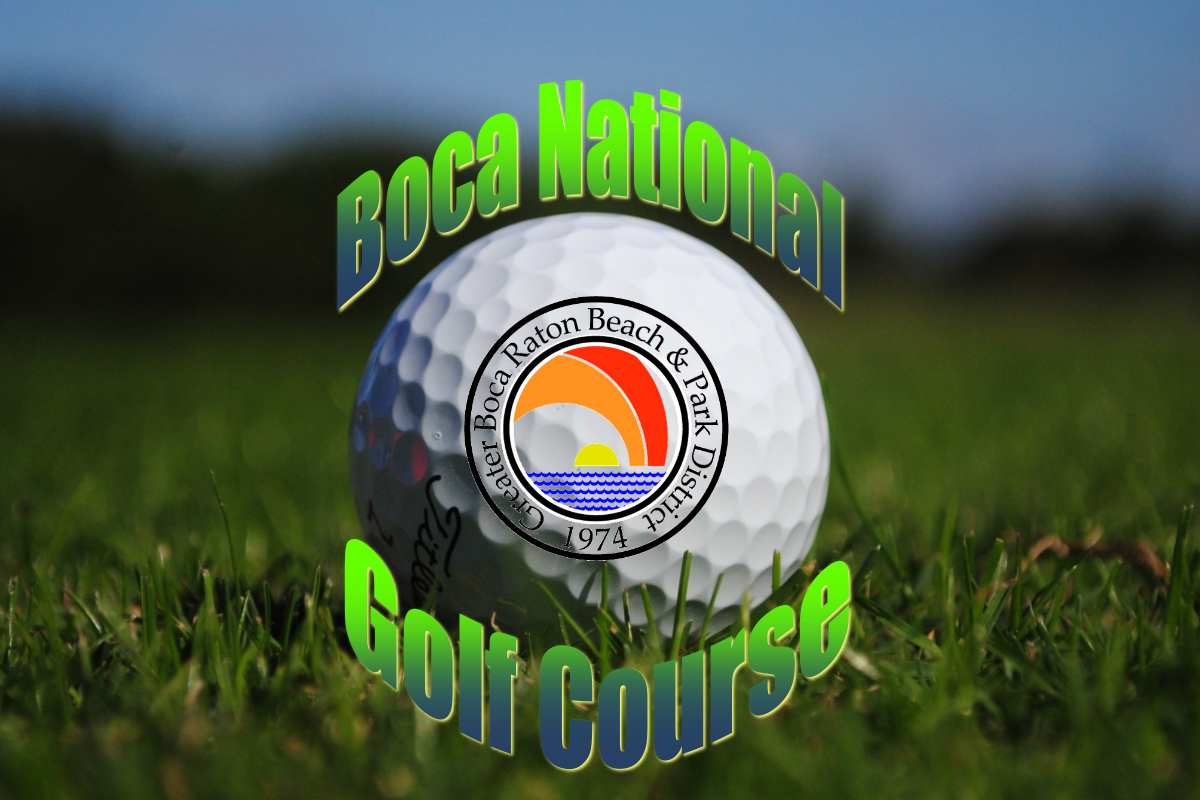 Boca National Golf Course Graphic